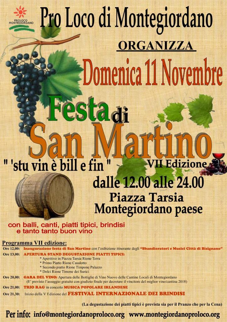 San Martino – Festa del vino 2018